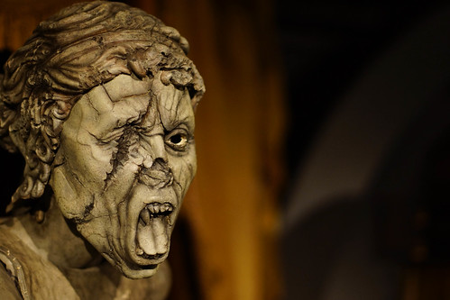 weeping angel from the Doctor Who experience