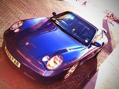 Porsche 911 Turbo 996 (MostlyCarPhoto's) Tags: blue 911 turbo german porsche supercar noordwijk porsche911 996 flickrandroidapp:filter=orangutan