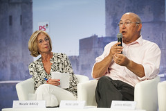 Nicole Bricq et Michel Sapin (Parti socialiste) Tags: larochelle poitoucharentes
