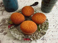 Lemon muffins - Food From Portugal (Food From Portugal) Tags: food portugal muffins lemon comida limo queques