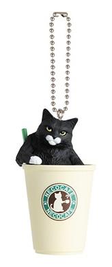 「貓」主題咖啡館療鬱吊飾推出