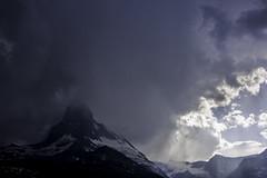 Matterhorn in the Clouds (Matthew Margot) Tags: mountains landscape switzerland nikon zermatt matterhorn valais d800 fav10 nikond800