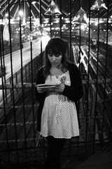(Luis Marileo Muena) Tags: santiago arte y pueblo moda poesia lectura golpe instalacion