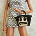 Celine luggage bag for 12 inch fashion dolls