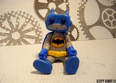 Na Na Na Na Na Na Batman Robot (Sleepy Robot 13) Tags: cute robot diy handmade robots polymerclay fimo comicbook kawaii sculpey etsy urbanvinyl marvel sculpting smallbusiness sleepyrobot13 polymerclayurbanvinylsleepyrobot13etsysilvercraftcraftscraftingsculptingsculpturefigurinearthandmadecraftshowcutekawaiirobots