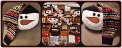 Chenille SnowFolks (MissyPenny) Tags: snowman handmade pennsylvania crafts pillow chenille elysburg pdlaich missypenny
