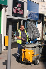 Street Cleaner (former-extog) Tags: street wfc bridgend penybontarogwr welshflickrcymru ©mikemccarthy