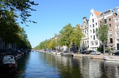 Keizersgracht ter hoogte van de Leidse Gracht,  Amsterdam 2013 (wally nelemans) Tags: holland amsterdam canal nederland thenetherlands keizersgracht gracht 2013