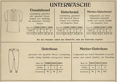 attic . tailorcatalog pages from 1932-1934 (stadtbild) Tags: fashion germany 1930s graphic grafik type werbung typo lübeck 1934 30s textil unterhose stolterfoht
