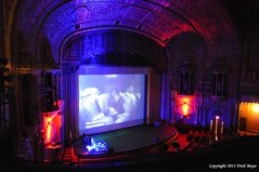 Movie Palace Magic (Trish Mayo) Tags: movie theater washingtonheights moviescreen unitedpalace spanishlanguagedracula
