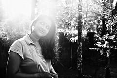 MISSUS SUNSHINE :) (Born Out'O Focus!) Tags: portrait film monochrome rangefinder yashicaelectro35 fujineopanacros