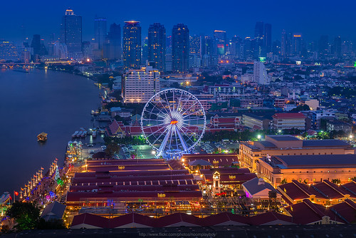Bangkok Eye : Asiatique The Riverfront