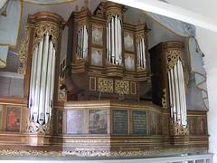 Steinkirchen, St. Nicolai et St. Martini (heinrekr) Tags: organ orgel schnitger vision:text=0568 vision:outdoor=0644
