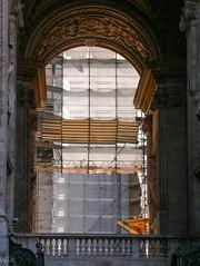 Vatican.  Rome 2007 (Tiigra) Tags: 2007 italy rome vatican architdetail light lazio arch