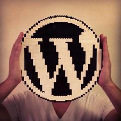 WordPress logo in LEGO - ze inst4gr4m sh0t (Bohman) Tags: logo lego wordpress moc wordpresslogo