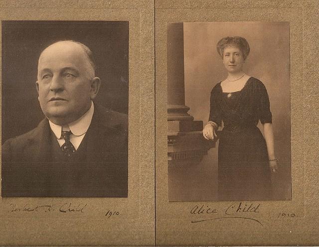 H H CHILD 1910
