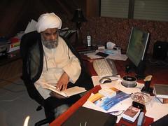 Sheikh at his Office in Sydney