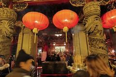 Kwan Tai Temple  () Tags: japan canon eos newyear tokina ii  yokohama kanagawa  dx   2014  yokohamachinatown  t124  60d kwantaitemple