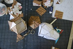 Bearbox (Lizette Greco + GRECOLABORATIVO) Tags: california bear sculpture art illustration oso 3d arte sandiego recycled drawing sewing patterns illustrations drawings escultura cardboard process recycling greco fiberarts lizettegreco californiabear rogre grecolaborativo