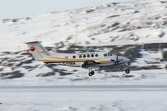 Keewatin Medevac (Jason Pineau) Tags: winter snow nu snowy north arctic 200 beechcraft nunavut beech kingair medevac medivac be20 keewatin kivalliq cfskn