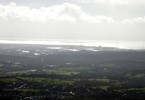 Newport & The Bristol Channel From Mynydd Maen 5 March 2017