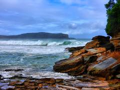 sml-fhdr-DSCN0125 (elphweb) Tags: roughseas roughsea ocean nsw australia sea water waves breakers storm coast coastal falsehdr fhdr bigwaves bigsurf surf foam mist