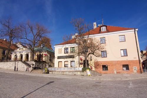 Fragment północnej pierzei (Rynek 12,13,14) w Sandomierzu