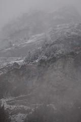 Lauterbrunnen (9) (José Rambaud) Tags: lauterbrunnen alpespeninos penninealps snowing snowstorm alpes alps alpen alpi alpine landscape paisaje paisagem paysage montañas moon winter switzerland schweiz suiza suisse viaje travel outdoor airelibre nubes clouds