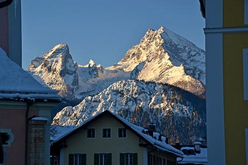 """Looking """"through the window"""" in Berchtesgaden!"""