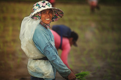 _MG_3218 (jeridaking) Tags: rice farmer woman lady portrait hat plastic rain palay ricefield caibiran biliran smile faces portraits filipino pinoy pinay poor rural ralph matres jeridaking fortheloveofphotography visayas eastern philippines