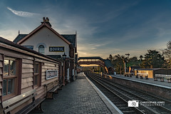 Bewdley Station at Sunset (C.P.JonesPhotography) Tags: bewdley bewdleynorth bewdleynorthviaduct bewdleystation bewdleystationsvr severnvalleyrailway svr severnvalley sunset sunsetphotography railways railwayphotography railway railwayheritage heritagerailways heritage heritagesteam heritagerailway britishrailways britishrailwayheritage britishrailwayswesternregion britishrailwayssteam gwr greatwesternrailway westernregion western westernsteam brw brsteam brlatesteam brwesternregion