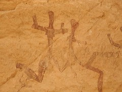 Chad Tibesti NE (ursulazrich) Tags: tschad chad ciad tchad sahara tibesti afrika africa afrique rockart felsbilder tanz dance woman frau korossom ouri