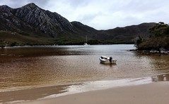 Bramble Cove. Port Davey. Tasmania.
