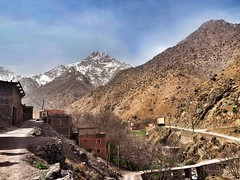 Morocco Travels - Mount Toubkal, Sahara, Marrakech (jnwleung) Tags: mountaineering trek highatlas snowcaps jbeltoubkal toubkal landscape travels africa rocks view climb snow 2017 mountains atlasmountains morocco