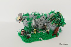 For Honour (~The Maestro) Tags: forhonour lego castle ruins bridge cliff