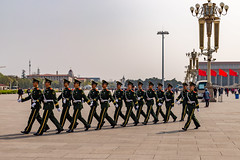 Troops on the Move Tiananmen Square, Beijing, China (Matthew Warner) Tags: 2017 asia beijing china chinatourcom intertripscom jerrybennett matthewwarner police soldiers tiananmensquare tourist troops exif:focallength=24mm geocountry exif:make=nikoncorporation camera:model=nikond3200 geo:lon=1163919 geostate exif:model=nikond3200 geo:lat=39905246666667 geocity exif:isospeed=200 exif:lens=1801400mmf3556 geolocation exif:aperture=ƒ38 camera:make=nikoncorporation