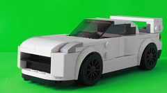 My Nissan Skyline R35 as a Speed Champions car (hachiroku24) Tags: lego nissan skyline gtr r35 speed champions 2017 moc instructions minifig car