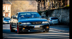 Nissan Skyline GT-R (Laurent DUCHENE) Tags: nissan skyline gtr r33 lanocturne 207