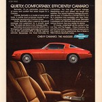 1980 Chevrolet Camaro Berlinetta Advertisement Time Magazine November 12 1979 thumbnail