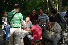 Ma Jiang at Park (Daniele Sartori) Tags: asia china cina shanghai people square piazza popolo ma jiang domino park parco old anziano play giocare tavolo table nikon d600 travel trip viaggio