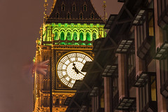Westminster at night, London (Photo VoJo) Tags: london night westminster city lights longexposure uk britain united kingdom evening dark attraction big ben bigben palace tower clock clocks sight landscape landmark capital parliament housesofparliament