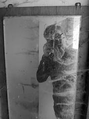 Spiegel (janvomtennis) Tags: schwarzweis blackandwhite deutschland germany trier saar mosel saarburg serrig mirror spiegel selfie lumix lumixg81 panas panasonicg81