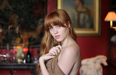 red hair, green eyes (unexpectedtales) Tags: green eyes red hair ginger