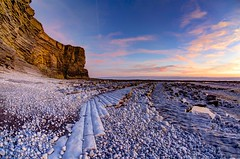 To win just once (pauldunn52) Tags: sunset nash point glamorgan heritage coast wales limestone cliffs beach pebbles