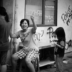 Say It Loud (michael.veltman) Tags: woman portrait street say it loud peace project jakarta indonesia
