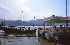 Macau harbour (Niall Corbet) Tags: china macau harbour port junk boat