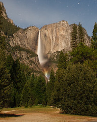 Unconventional Moonbow (Jeffrey Sullivan) Tags: national park yosemitevalley sierra nevada yosemitevillage usa nature landscape night photography astrophotography canon photo copyright jeff sullivan may 2008 moonbow lunar rainbow fullmoon yosemite