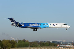 Nordica(LOT)   CRJ-900ER   ES-ACB (Globespotter) Tags: brusselsnational nordicalot crj900er esacb additional lot title