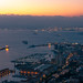 Sunset at Gibraltar