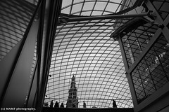 Lines and squares - the Trinity centre roof with reflections. ((c) MAMF photography.) Tags: roof trinitycentreleeds art arty artistic artwork arcade britain blackwhite blackandwhite bw biancoenero beauty beautiful blancoynegro blanco blancoenero candid city citycentre dark d7100 england enblancoynegro flickrcom flickr google googleimages gb greatbritain greatphotographers greatphoto image inbiancoenero images interesting leeds ls1 leedscitycentre mamfphotography mamf monochrome nikon noiretblanc noir nikond7100 north negro northernengland onthestreet photography photo pretoebranco schwarzundweis schwarz town uk unitedkingdom upnorth westyorkshire yorkshire zwartenwit zwartwit zwart